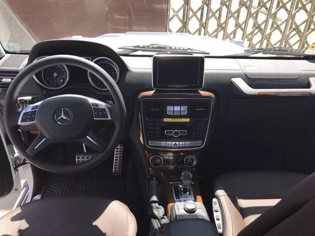 奔驰G550全新配置详解港口最低价