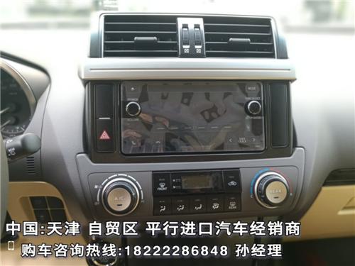 中东版丰田霸道4000 普拉多4.0九月让利