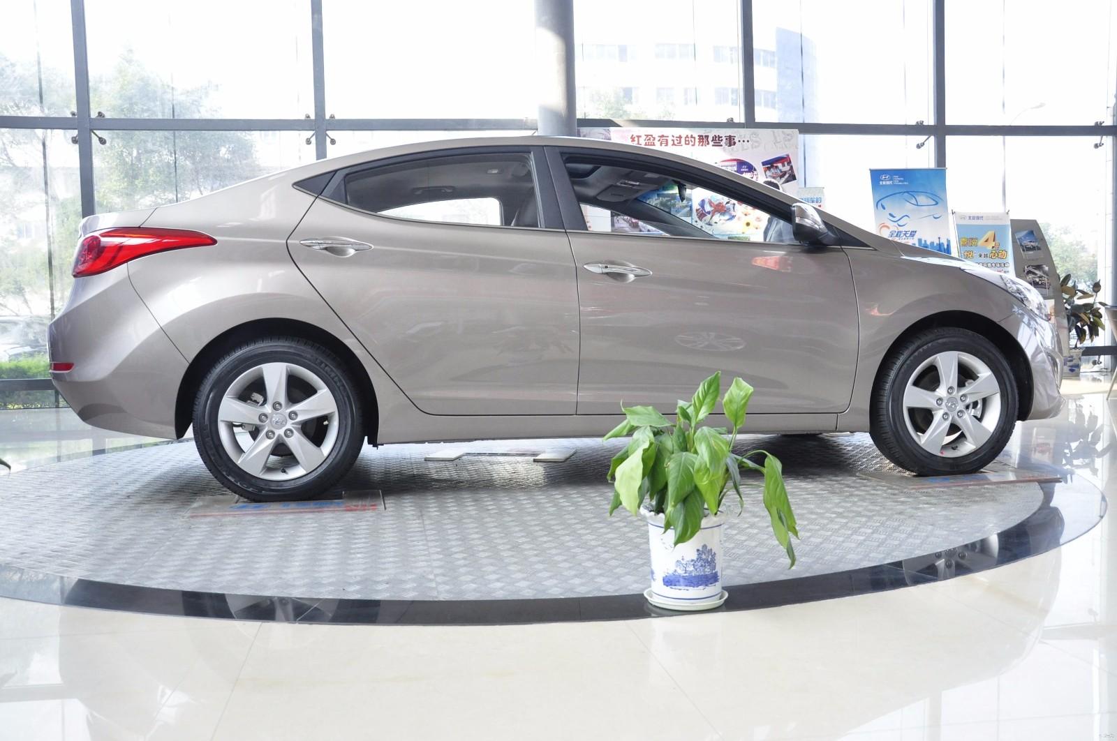 新现代朗动1.6L多少钱厂家活动最新价位-北京