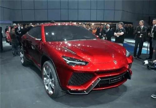 最新款兰博基尼SUV 红色亮瞎双眼的汽车