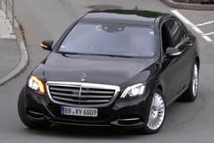 新款奔驰S级谍照 造型小改/2017年发布