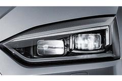 新款奥迪A5 Coupe细节图 6月即将发布