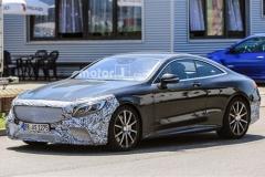 新款奔驰S63 Coupe谍照曝光 动力微调