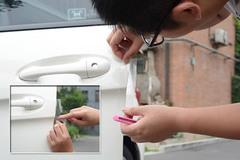 便宜又省事 自己动手裁贴车门保护膜