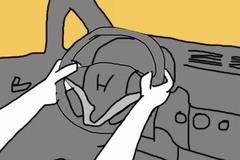 别信星座扯淡 方向盘握法看司机性格