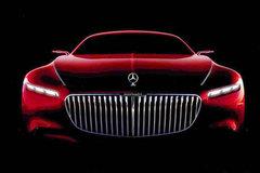 迈巴赫全新概念车预告图 8月18日将发布