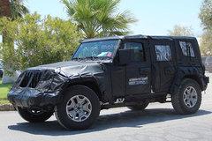 全新Jeep牧马人最新消息 延续经典造型