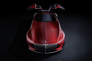 奔驰迈巴赫Vision 6概念车 搭载远程控制系统