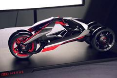人类设计精华 奥迪推出概念摩托车Nexus