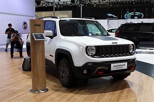 2016成都车展 Jeep自由侠75周年致敬版售20.28万