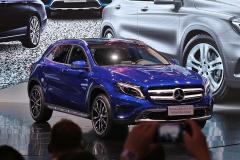 奔驰GLA蓝调版发布 9月底将限量上市