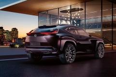 雷克萨斯UX概念车发布 亮相巴黎车展