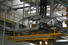 探秘奇瑞捷豹路虎工厂 了解全铝车身