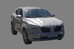 宝沃BX3实车曝光 造型紧凑/明年上市