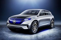 奔驰子品牌EQ首款车型或2018正式上市