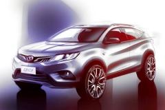 颜值实力SUV:东南DX3设计及配置解析