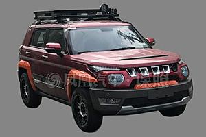 北京BJ20运动版实车首曝 将明年上市