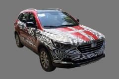 奔腾X40自动挡实车首曝 将明年初上市