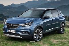 欧宝将推7座SUV Grandland X 明年发布