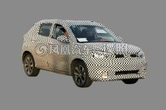 风神AX1路试首曝 小型SUV/或明年上市