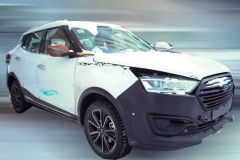 汉腾全新SUV谍照 定位或低于汉腾X7