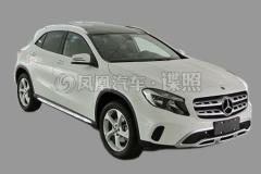 北京奔驰新款GLA申报图 细节提升显著