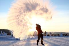 挑战100度游记(下)-50℃怎么生活?
