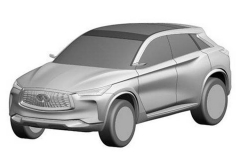 英菲尼迪将推全新QX50 外观大幅改动