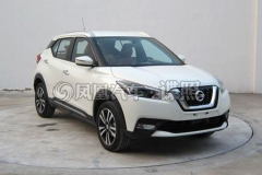 东风日产KICKS申报图曝光 全新小型SUV
