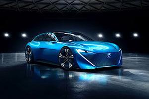 标致Instinct概念车 自动驾驶混合动力