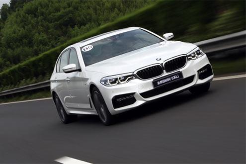 实拍全新BMW 5系 开着像3系/坐着像7系