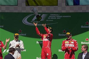 F1巴西站:维特尔夺冠 马萨再次挥泪主场