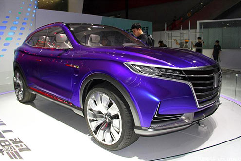 上汽荣威新SUV如天外来客 续航500公里/加速仅4秒