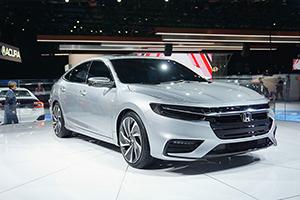 2018北美车展:本田全新INSIGHT原型车