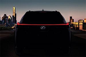 雷克萨斯UX将量产 日内瓦车展首发