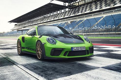 保时捷911 GT3 RS官图 最强自吸911诞生