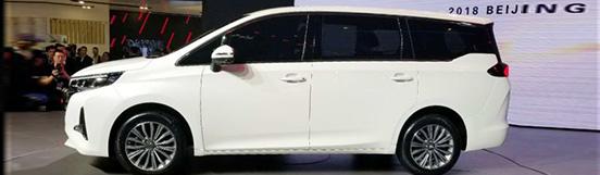 广汽传祺GM6车型首发 6座布局