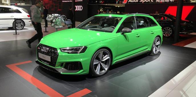 2018北京车展:奥迪全新RS 4 Avant