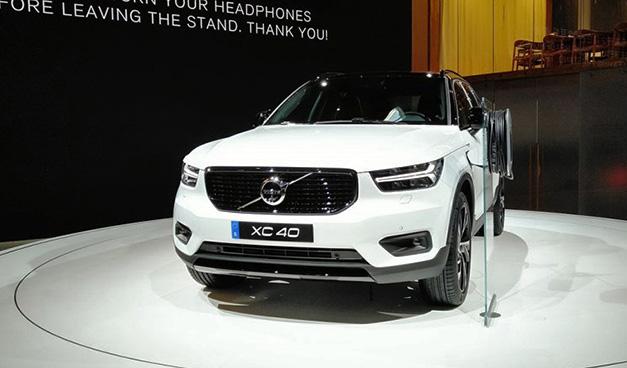 2018北京车展:新一代沃尔沃XC40亮相