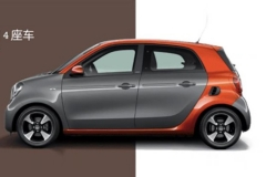 smart forfour 66千瓦风尚版上市 售15.8万元