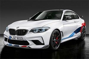 BMW M2雷霆版M运动套件官图 动力提升