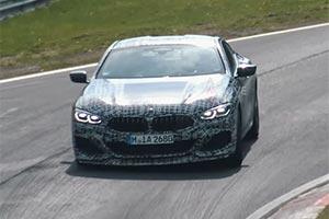 BMW M850i纽博格林测试谍战曝光 拥530马力