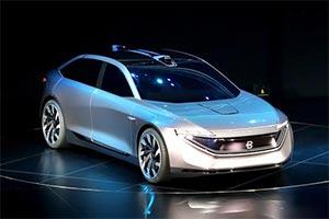 拜腾豪华概念轿车亮相 L4级自动驾驶/2021年上市