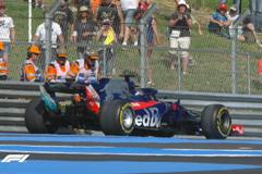 F1法国站FP2:汉密尔顿最快 佩雷兹丢轮子