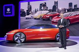 大众计划到2022年将推出27款电动车型