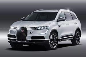 布加迪终于也坐不住了 全球最快量产SUV马上要来了!