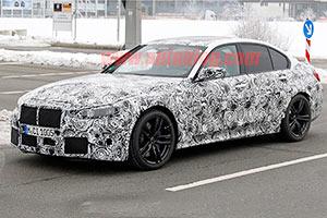 全新BMW M3更多信息曝光 法兰克福车展亮相