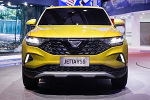 采用大众MQB平台 JETTA VS5亮相2019上海车展