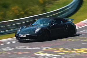 新款保时捷911 Turbo S敞篷版或明年发布