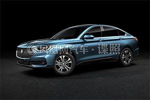 新宝骏跨界中型车渲染图曝光 预计下半年上市